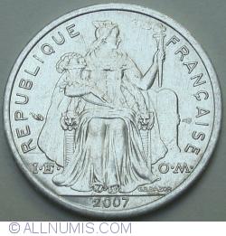 Image #2 of 1 Franc 2007