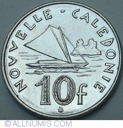 Image #1 of 10 Francs 2004