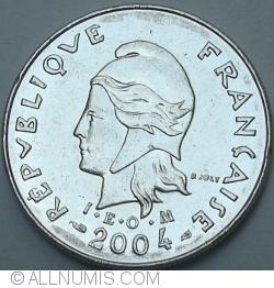 Image #2 of 10 Francs 2004