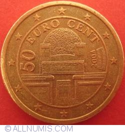Image #2 of 50 Euro Cent 2004