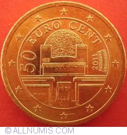 Image #2 of 50 Euro Cent 2011