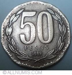 Image #1 of 50 Pesos 1989