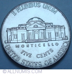 Image #1 of Jefferson Nickel 2009 P