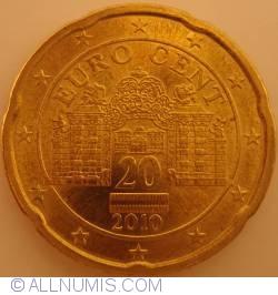 Image #2 of 20 Euro Centi 2010