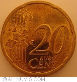 Imaginea #1 a 20 Euro Centi 2006