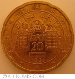 Imaginea #2 a 20 Euro Centi 2006