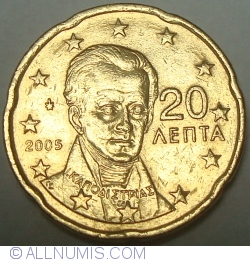Image #2 of 20 Euro Cent 2005
