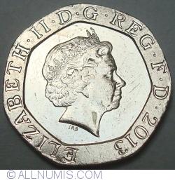 20 Pence 2013