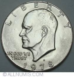 Image #2 of Eisenhower Dollar 1978 D