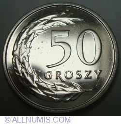 Image #1 of 50 Groszy 2018