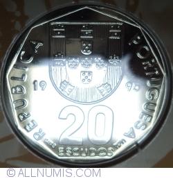 Imaginea #1 a 20 Escudos 1995