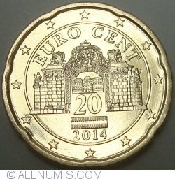 Image #2 of 20 Euro Cent 2014