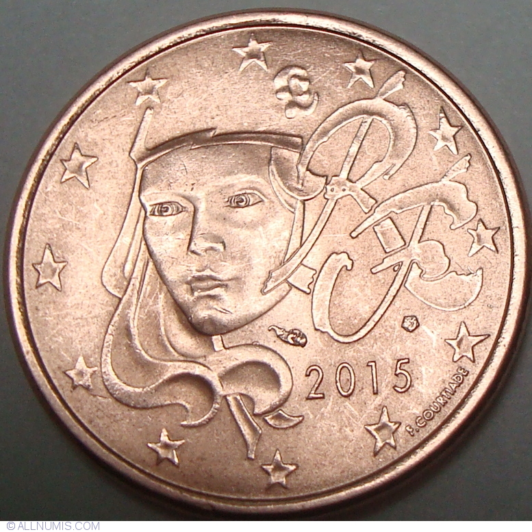5 Euro Cent 2015 Euro 2010 2019 France Coin 37926
