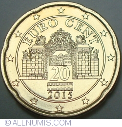 Image #2 of 20 Euro Cent 2015