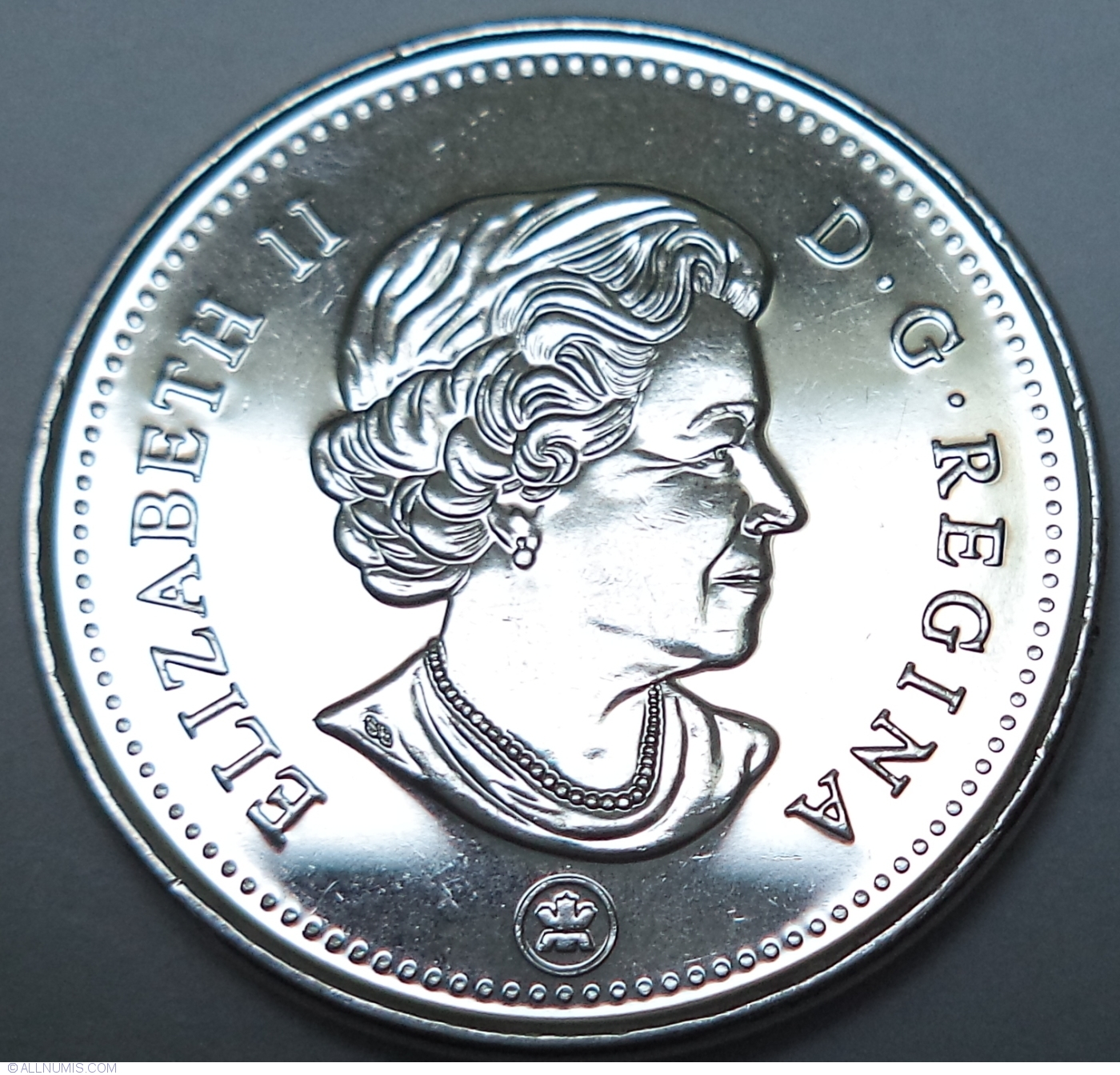 2016 CANADA 5 CENTS