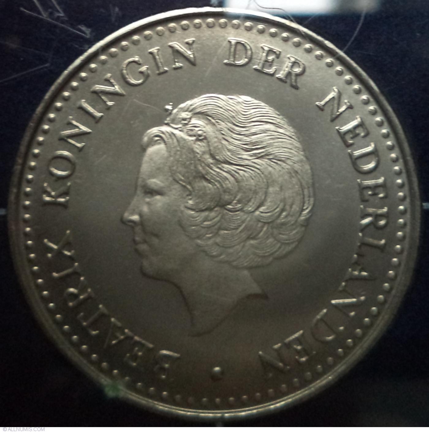 NETHERLANDS ANTILLES 1.00-1 Gulden issue 1970 UNC