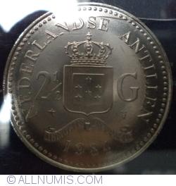 Image #1 of 2 ½ Gulden 1984