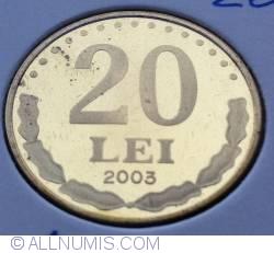 Imaginea #2 a 20 Lei 2003