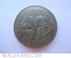 Image #1 of 100 Kronur 2004