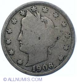Liberty Head Nickel 1906