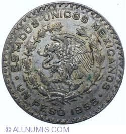 Image #2 of 1 Peso 1958