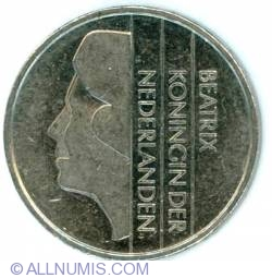 Image #1 of 1 Gulden 1987