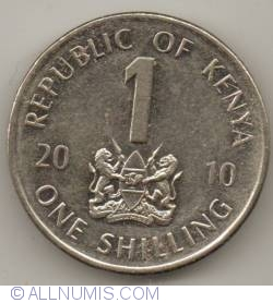 Image #2 of 1 Shilling 2010