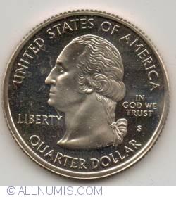 State Quarter 2001 S - North Carolina