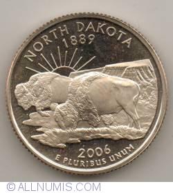 State Quarter 2006 S - North Dakota