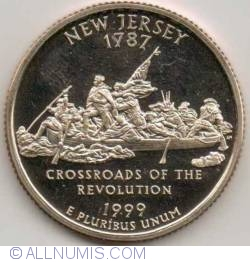 Image #2 of State Quarter 1999 S - New Jersey