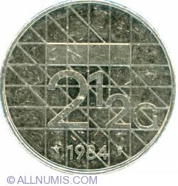 Image #2 of 2-1/2 Gulden 1984