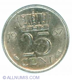 25 Cents 1967