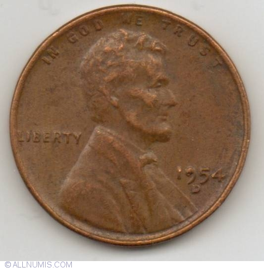 BU 1953 D LINCOLN WHEAT CENT BEAUTIFUL RED BRILLIANT UNCIRCULATED