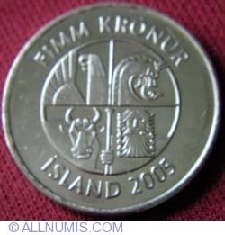 Image #1 of 5 Krónur 2005