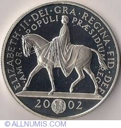 Imaginea #1 a 5 Pounds 2002 - Jubileul de aur al Reginei