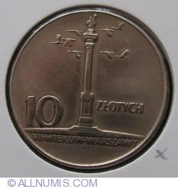 10 Zlotych 1965