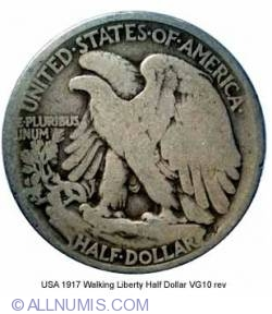 Image #2 of Half Dollar 1917