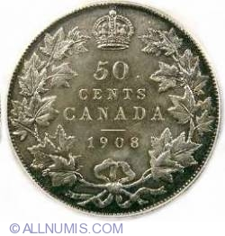 Image #2 of 50 Cents 1908