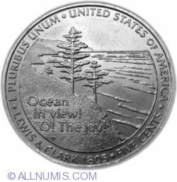 Image #2 of Jefferson Nickel 2005 P Pacific