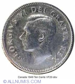 Image #1 of 10 Cents 1949