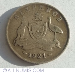 6 Pence 1921