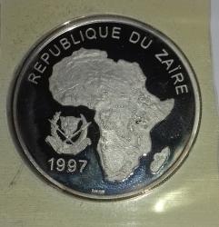 Image #2 of 1000 Nouveaux Zaires 1997