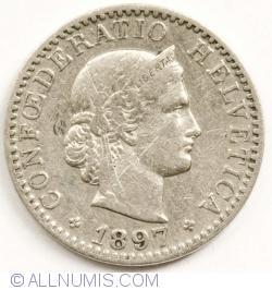 20 Rappen 1897 B