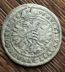 Image #2 of 1 Kreuzer 1696
