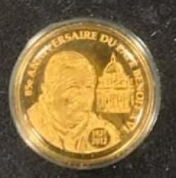 1500 Francs 2012 - Pope Benedict XVI
