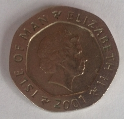 Image #2 of 20 Pence 2001 AA