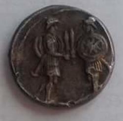 Imaginea #2 a Denar Gaius Servilius