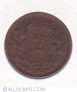 Image #1 of 2 Rappen 1890