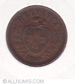 Image #2 of 2 Rappen 1890