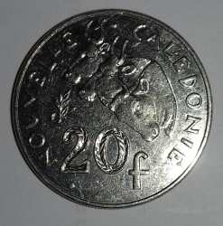 20 Francs 2004